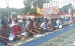 Polres Palangka Raya dan PMII Gelar Doa Bersama