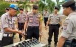 Polres Sukamara Gelar Pemeriksaan Senjata Api Milik Personil