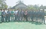 Bhabinkamtibmas Polsek Selat Sambangi SMKN 4 Kuala Kapuas