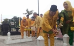Ziarah ke Makam Pendiri Kotawaringin Barat Jadi Rangkaian Peringatan HUT Kotawaringin Barat