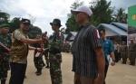 Bupati Barito Selatan Buka TMMD ke-106 di Desa Patas II