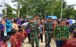 Bupati Barito Utara Buka TMMD Imbangan ke 106 di Desa Mukut