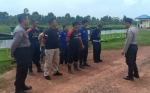 Personel Satbinmas Polres Kapuas Berikan Pembekalan Dasar Bela Diri kepada Satpam