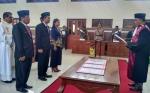Unsur Pimpinan DPRD Gunung Mas Diambil Sumpah Janji