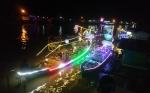 Lomba Getek Belampu dalam Festival Batang Arut Berlangsung Meriah