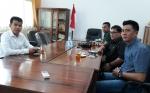 Anggota DPRD Kapuas Menyampaikan Sejumlah Hal saat Menerima Kunjungan DPRD Hulu Sungai Utara