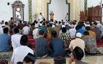 Gubernur Kalteng Salat Jumat di Masjid Agung Sukamara