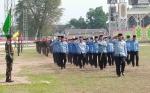 Begini Penampilan ASN saat Ikuti Defile HUT ke-74 TNI