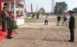 Danrem Panju Panjung Pimpin Upacara HUT ke-74 TNI