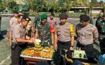 Polres Kapuas Kunjungi Kodim Rayakan HUT TNI