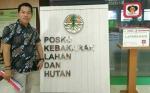 Dugaan Kebakaran Lahan di Perusahaan Hutan Tanaman Industri PT Ceria Karya Pranawa Dilaporkan ke KLHK