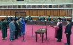 4 Pimpinan DPRD Kalteng Masa Jabatan 2019-2024 Dilantik