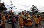 Ribuan Orang dari Ratusan Peserta Ikuti Pawai Budaya Nasi Adab