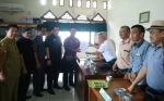Unsur pimpinan DPRD Barito Timur Terima Kelompok Masyarakat Mengeluhkan Tindakan Rekanan PT Pertamina
