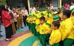 Istri Gubernur Kalteng Beri Kejutan Sejumlah TK di Palangka Raya