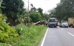 Jalan Trans Kalimantan Kasongan - Kereng Pangi Rawan Kecelakaan Lalu Lintas