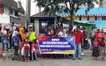 Polres Kobar Manfaatkan Momen Pawai Budaya untuk Kampanyekan Keselamatan Berlalu Lintas