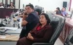 Dinas Transmigrasi Tenaga Kerja Koperasi dan UKM Gunung Mas Menyelesaikan Pelatihan Menjahit Tingkat Dasar