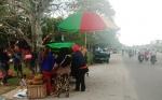 Meski Dilarang, Pedagang Buah masih Berjualan di Depan Museum Balanga Palangka Raya