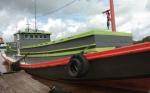 Menggunakan Tugboat Senggora Mariner, Tim Gabungan Berupaya Mencari KM Berkat Barokah