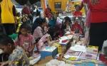 Stan Disdikbud di Kobar Expo Menyediakan Fasilitasi Bermain dan Belajar untuk Anak