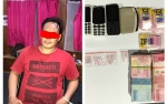 Jajaran Satresnarkoba Bersama Resmob Polres Barito Selatan Amankan Bandar Sabu