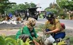 DLH Kapuas Bersama Kelompok Pecinta Alam dan Lingkungan Gelar Penanaman Pohon
