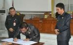 DPRD Gunung Mas telah Menetapkan Pimpinan dan Keanggotaan Fraksi