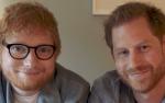 Ed Sheeran dan Pangeran Harry Promosikan Kesehatan Mental