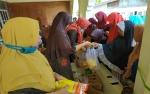 Kurang dari 1,5 Jam Semua Barang Habis Terjual di Pasar Murah Desa Pasar Undang