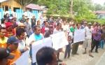 Puluhan Petani Datangi Kantor Kecamatan Gunung Purei Sampaikan Aspirasi