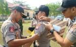 Polres Bartim Laksanakan Apel Gelar Pasukan Pengamanan Pilkades Serentak