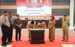 Pemerintah Tiga Daerah di Kalimantan Tengah Tandatangani MoU Rencana Kerjasama
