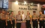 Kapolda Kalteng dan Pejabat Utama Jalani Tes Urine