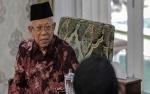 Maruf Amin Bicara Susunan Menteri Kabinet