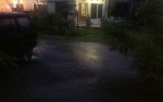 Kasongan Diguyur Hujan Lebat