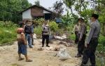 Kapolsek Kapuas Barat Cek Munculnya Gelembung Gas di Sumur Bor Desa Maju Bersama