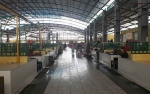 Pedagang Ikan di Pasar Indra Sari Kesulitan Air