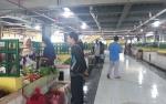 Pedagang Sayur dan Ikan mulai Berjualan di Pasar Indra Sari