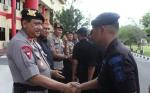 Ratusan Personel Polda Kalteng Diberangkatkan Pertebal Pengamanan di Penajam Paser Utara