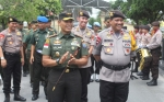 Pangdam XII Tanjungpura Mayjen TNI M Nur Rahmad Kunjungan Kerja ke Polda Kalimantan Tengah