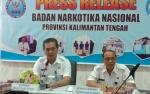 BNNP Kalteng Akan Telusuri Peredaran Narkoba di Lokasi Pertambangan dan Perkebunan