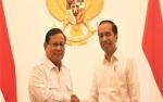 Prabowo Bertemu Presiden Jokowi di Istana