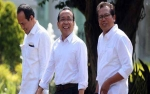 Tiga Tokoh Ini Bersamaan Datangi Istana Presiden