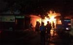 Rumah di Jalan Batu Pirus Sampit Terbakar