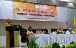 Yulistra Ivo Buka Pelatihan e-Reporting Dharma Wanita Persatuan Kalteng