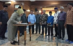 DPRD dan Bupati Kotawaringin Barat Sepakat Tandatangani Pembentukan Provinsi Kotawaringin