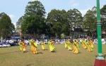Tari  Santri Harati MIN 1 Kobar Meriahkan Upacara Hari Santri Nasional 2019