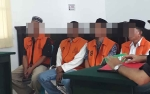 4 Terdakwa Ini Belum Sempat Untung Main Judi Keciduk Polisi