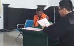 Pria Bertato Miliki 21 Paket Sabu, Menunduk Saat Diadili